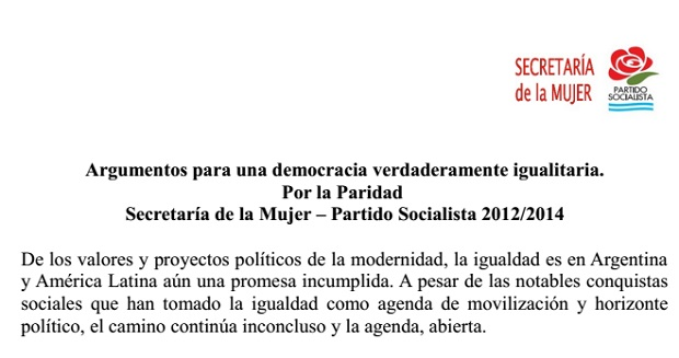 Documento Paridad